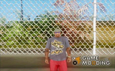 Хэллоуинская Футболка v2 для GTA San Andreas