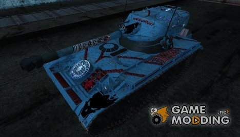 Шкурка для AMX 13 75 №17 для World of Tanks