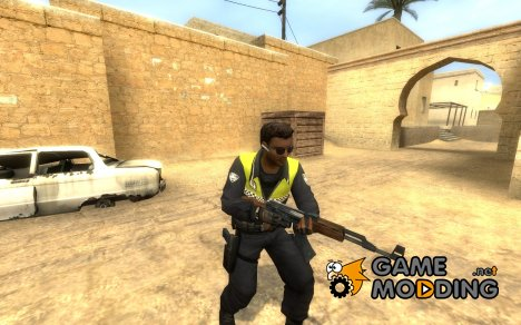 Leet Municipal Spanish Police для Counter-Strike Source