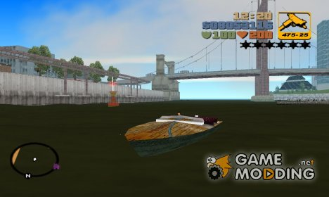 Boat из Mafia for GTA 3
