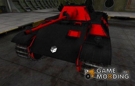 Черно-красные зоны пробития VK 16.02 Leopard for World of Tanks