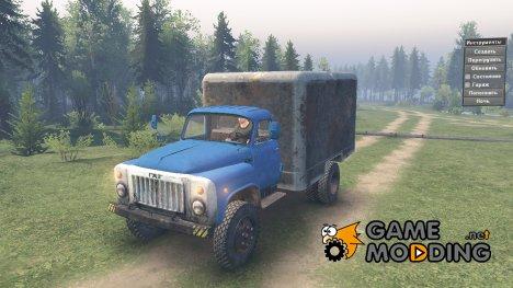 ГАЗ-53 4x4 v1.1 для Spintires 2014