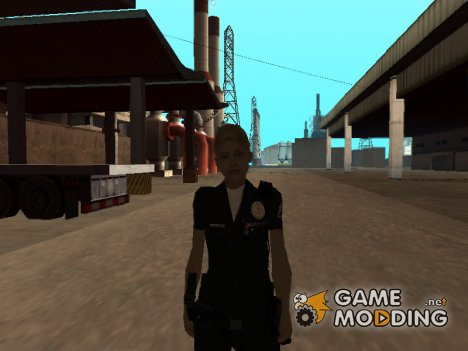 Female Cop для GTA San Andreas