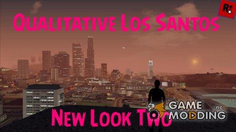 Qualitative Los Santos: New Look Two для GTA San Andreas