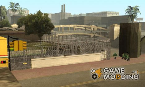 Забор вокруг гроув стрит для GTA San Andreas