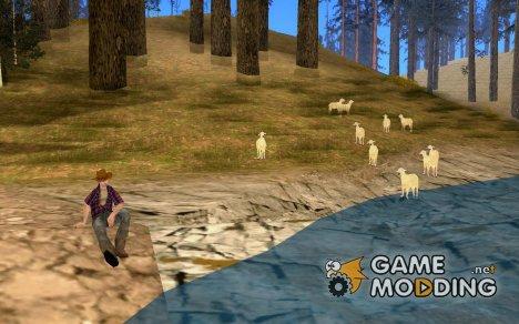 Одинокий пастух for GTA San Andreas