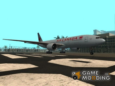 Boeing 777-200ER Air Canada for GTA San Andreas