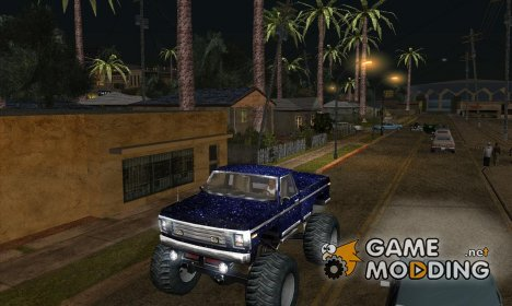 New skin Monster A Truck для GTA San Andreas
