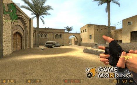 Fingergun M4 for Counter-Strike Source