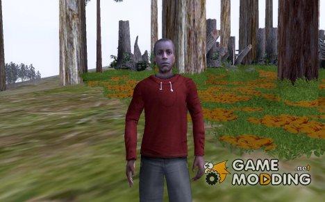 Молодой афроамериканец для GTA San Andreas
