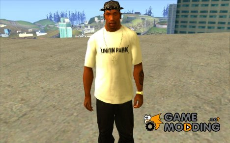 LP shirt white for GTA San Andreas