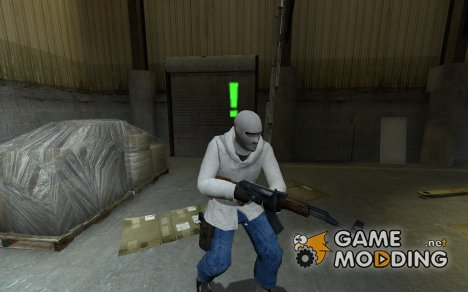 White Arctic with jeans для Counter-Strike Source