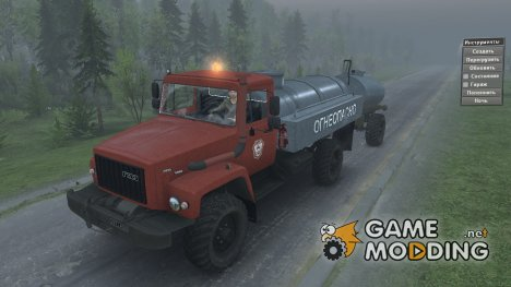 ГАЗ 3308 «Садко» v 2.0 for Spintires 2014