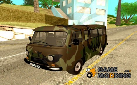 UAZ Serbian Military Vehicle для GTA San Andreas