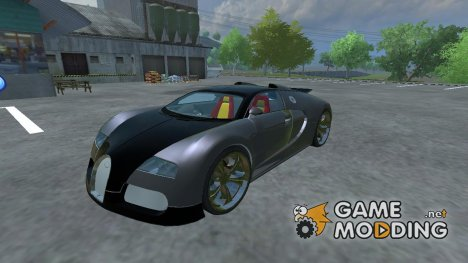 Bugatti Veyron for Farming Simulator 2013