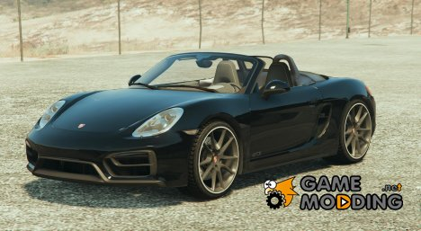 Porsche Boxster GTS 1.2 for GTA 5