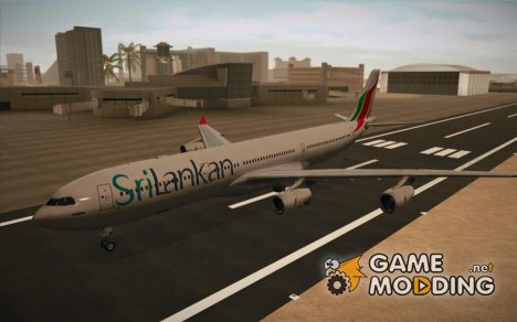 Airbus A340-300 Srilankan Airlines for GTA San Andreas