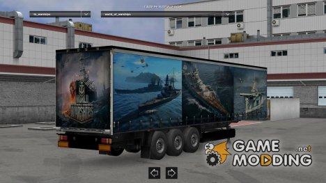 World of Warships для Euro Truck Simulator 2