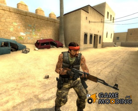 Tattoo Guerilla для Counter-Strike Source