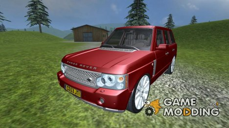 2009 Range Rover v 2.0 for Farming Simulator 2013