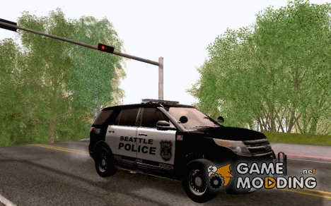 Ford Police Interceptor Utility 2011 Seattle (WA для GTA San Andreas