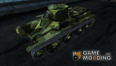 Шкурка для БТ-2 для World of Tanks