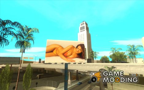 Hot girls posters for GTA San Andreas