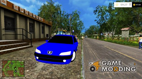 Peugeot DT 306 v 1.0 for Farming Simulator 2015