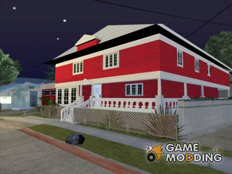 Red House CJ for GTA San Andreas