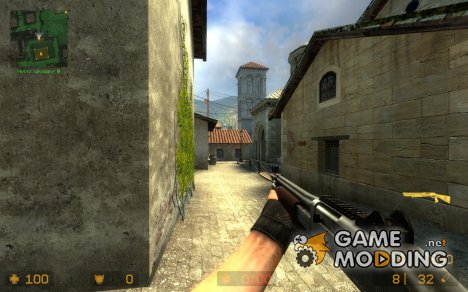 Schmung's M3 With Wood for Counter-Strike Source