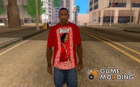 Футболка BloodZ/Urban для GTA San Andreas