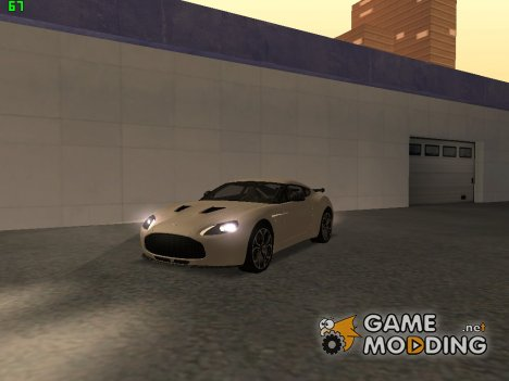 Aston Martin V12 Zagato for GTA San Andreas