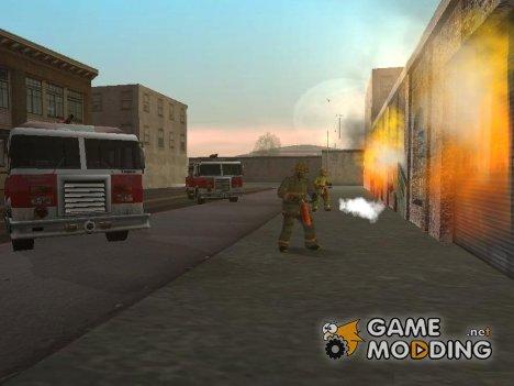 Пожар в Сан Фиерро [fire in San Fierro] для GTA San Andreas
