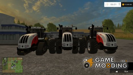 STEYR 6600cvt Pack v1.0 for Farming Simulator 2015
