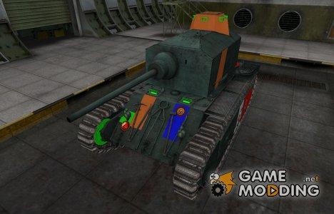 Качественный скин для ARL 44 для World of Tanks