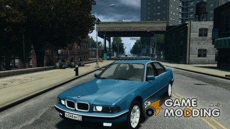 BMW 750i (e38) v2.0 для GTA 4