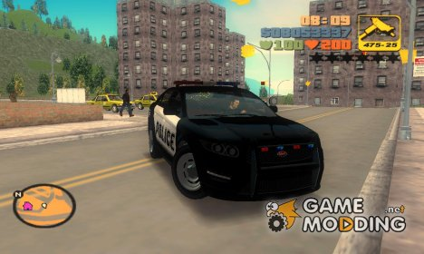 Police Cruiser из GTA 5 for GTA 3