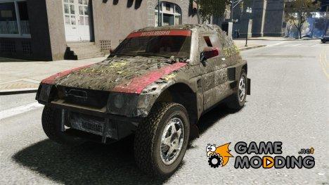 Mitsubishi Pajero Proto Dakar EK86 винил 1 для GTA 4