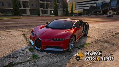 2017 Bugatti Chiron 1.0 for GTA 5