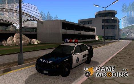 Declasse Merit San Fiero Police Patrol Car for GTA San Andreas