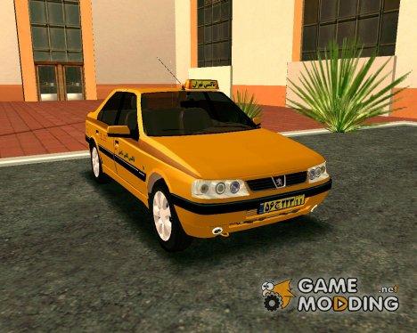 Peugeot 405 Slx Taxi for GTA San Andreas