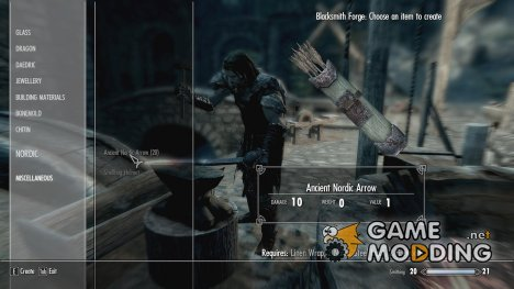 Craftable Ancient Nord Weapons for TES V Skyrim
