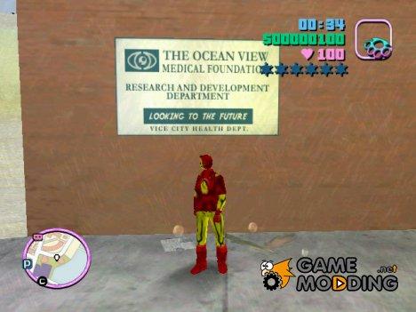 Железный Человек for GTA Vice City