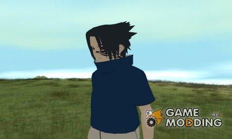 Учиха Саске во время боя с Наруто в долине завершения HD для GTA San Andreas