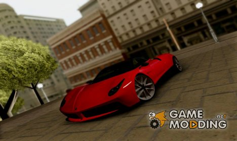 Pegassi Osiris GTA V для GTA San Andreas