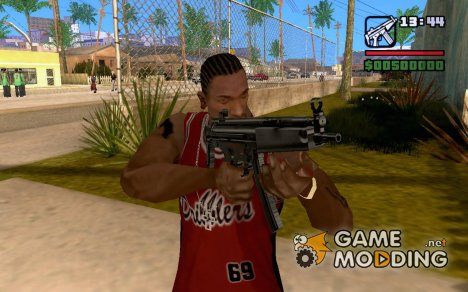 HK MP5-A5 for GTA San Andreas