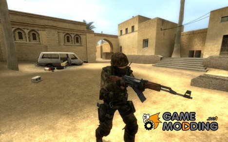 CT_Woodland для Counter-Strike Source