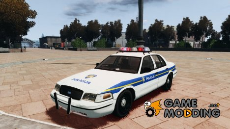 Ford Crown Victoria Croatian Police Unit для GTA 4
