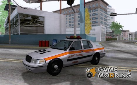 2003 Ford Crown Victoria 'Friday Harbor Fire Dept.' для GTA San Andreas