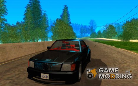 Mercedes-Benz C126 500SEC KS для GTA San Andreas